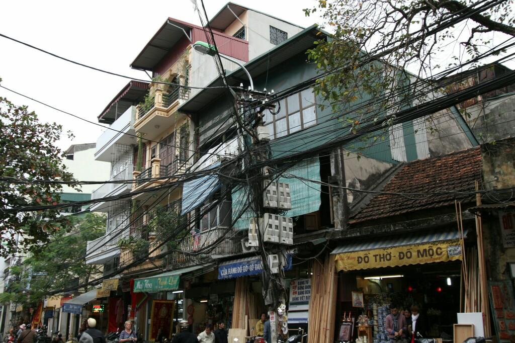 Stromverteilung a la Vietnam