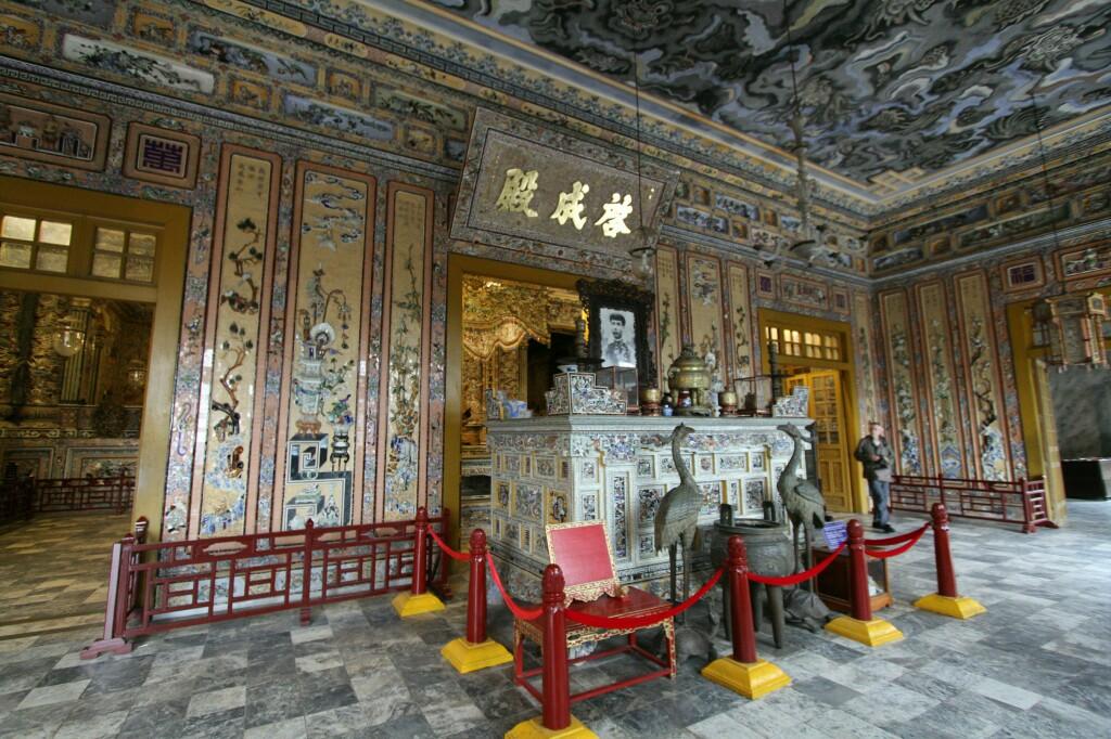 Im Thien Dinh Palast, Khai Dinh Kaisergrab