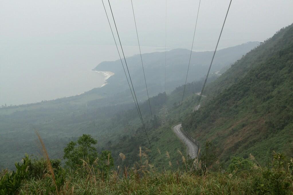 Blick nach Süden vom Wolkenpass