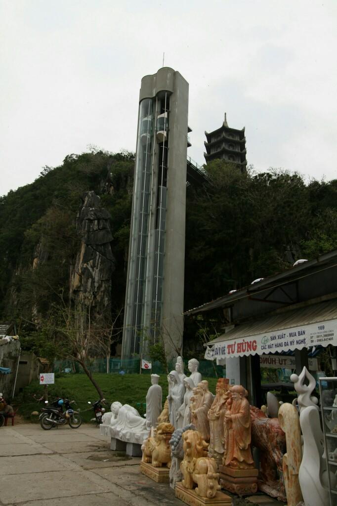 Fahrstuhl zum Thuy Son, Da Nang