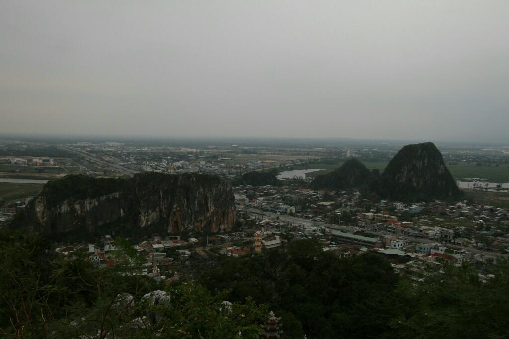 Blick vom Thuy Son, Da Nang