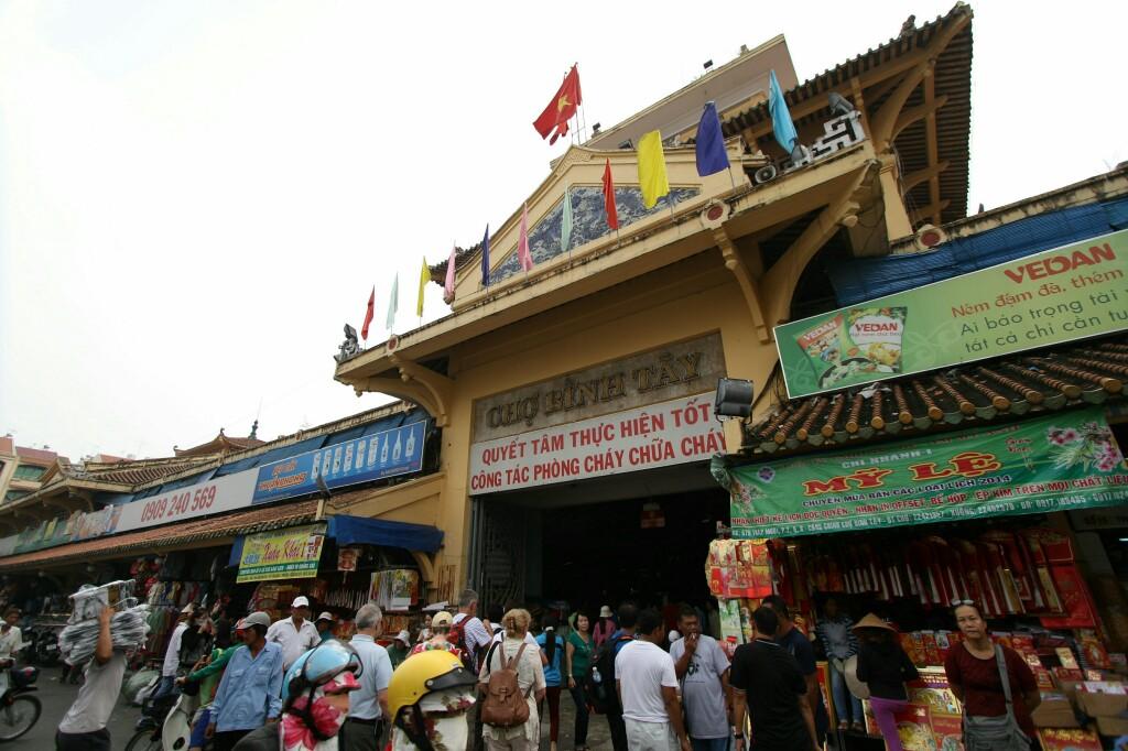 Cho Binh Tay Markt in Cho Lon