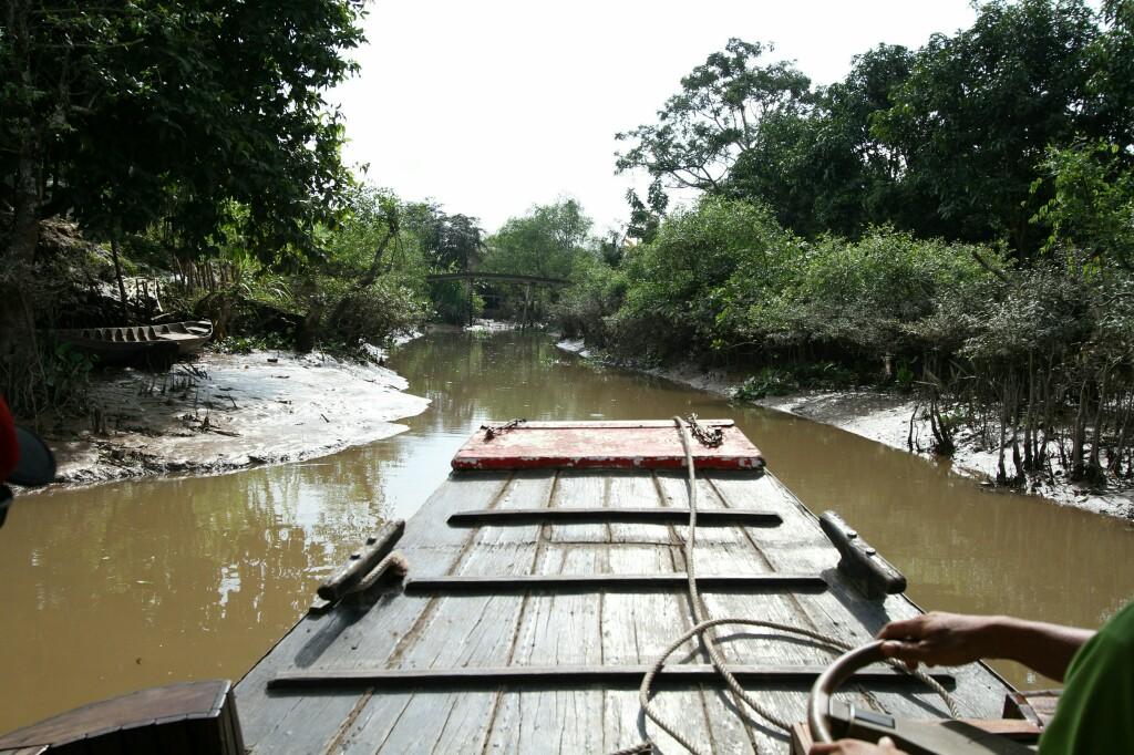 Enger Seitenarm des Mekong
