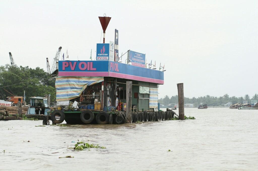 Tankstellenboot