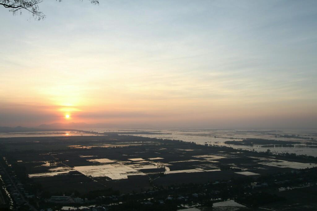 Sonnenuntergang Nui Sam