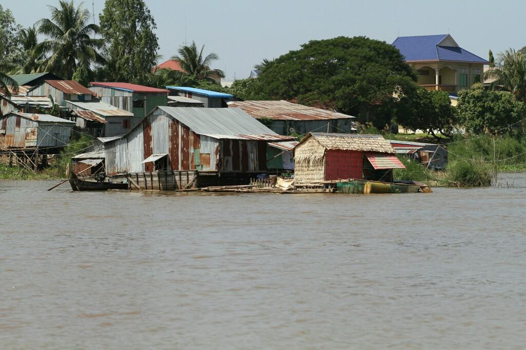 Mekong-Hausboot