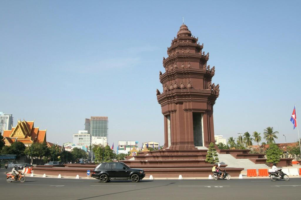 Unabhängigkeitsdenkmal Phnom Penh