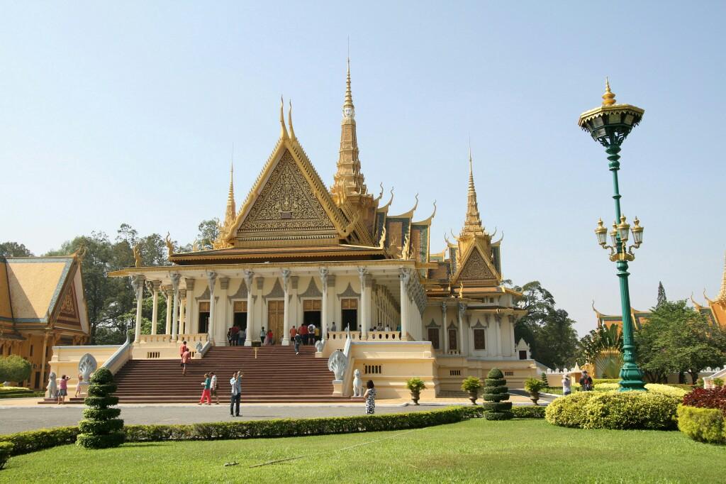 Thronhalle im Königspalast Phnom Penh